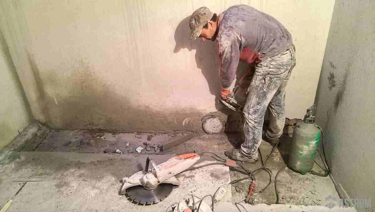 Методы демонтажа бетона Киев